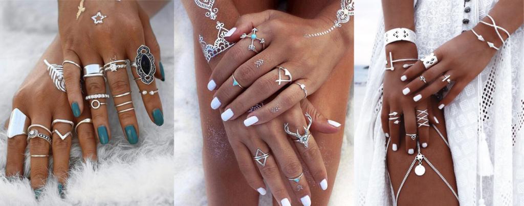 bijou artisanal a la mains